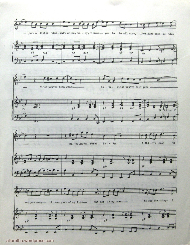 All Music Chords sheet music for say something : Sweet Sweet Baby) Since You've Been Gone – Sheet Music | allaretha